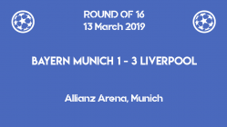 Bayern out of Champions League 2019 after 1-3 home defeat against Liverpool