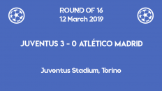 Cristiano Ronaldo hat trick against Atletico Madrid qualified Juventus for the quarter-finals of Champions League 2019