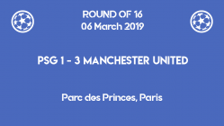 PSG out of Champions League 2019 after 1-3 defeat against Manchester United