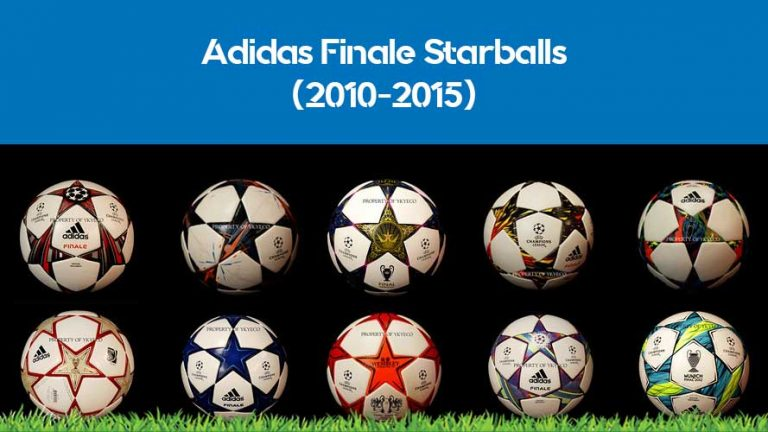 All the Adidas Finale Champions League balls from 2010 to 2015