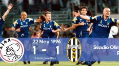 Watch how Juventus won the Champions League 1996 final against Ajax