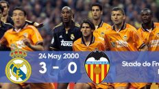 Watch how Real Madrid scores 3 goals against Valencia in the Champions League 2000 final