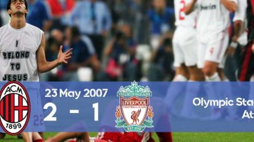 Watch how Milan take its revenge and won against Liverpool in the Champions League 2007 final thanks to Inzaghi's g oals