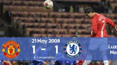Watch how Manchester won the Champions League 2008 final on penalties against Chelsea