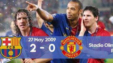 Watch here how Barcelona won the 2009 Champions League final against Manchester