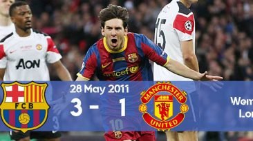 Watch here how Barcelona won the Champions League 2011 final against Manchester United at Wembley.