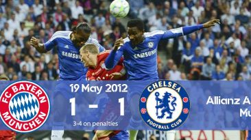 Watch how Chelsea won on penalties the Champions League 2012 final against Bayern Munich