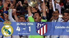 Watch how Real Madrid won the Champions League 2014 final against Atletico Madrid