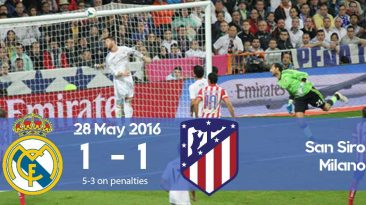 Watch how Real Madrid won the Champions League 2016 final against Atletico Madrid