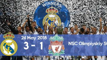 Watch the goals from Real Madrid vs Liverpool Champions League final 2017 when Real Madrid won the third consecutive trophy