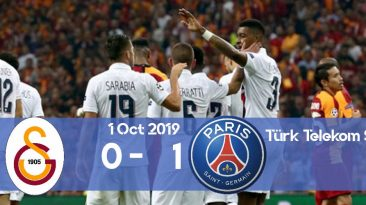 Galatasaray 0-1 PSG Champions League 2019/2020 group stage Matchday 2