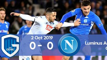 Genk 0-0 Napoli Champions League 2019/2020 group stage