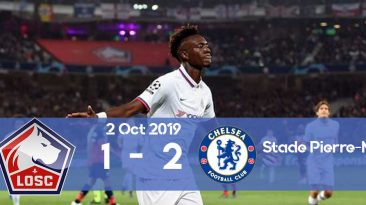LOSC 1-2 Chelsea Champions League 2019/2020 group stage
