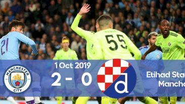 Manchester City 2-0 Dinamo Zagreb Champions League 2019/2020 group stage