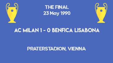 UCL 1991 - Milan Benfica final scoreboard
