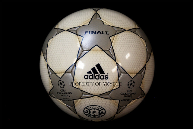 First Adidas Finale Ball used for The Champions League 2001-2002 season