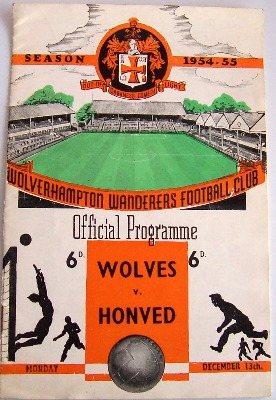 Wolves v Honved 3-2 December 1954