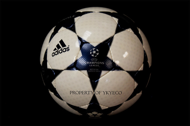 The Adidas Finale 3 Ball used during The Champions League 2003-2004 season
