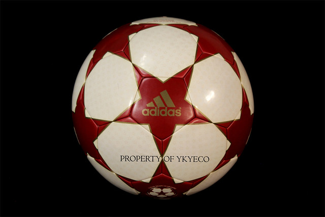 The Adidas Finale 4 Ball used during The Champions League 2004-2005 season