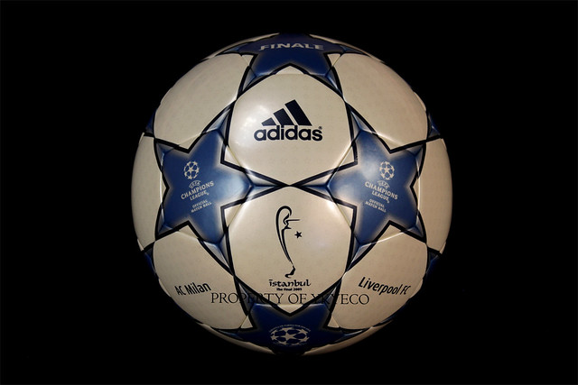 The Adidas Finale Istanbul used during The Champions League final won by Liverpool