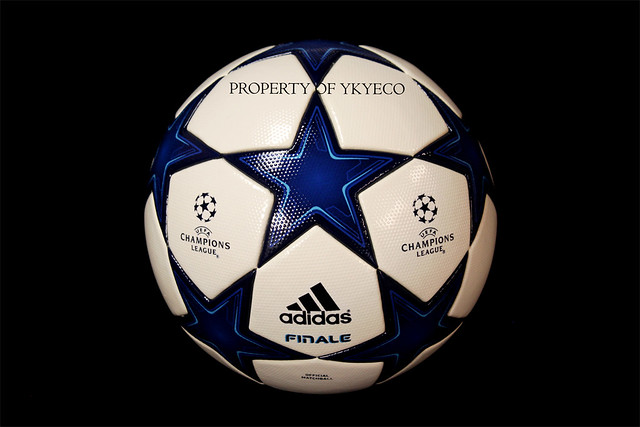 The Adidas Finale Madrid 10 Ball is used during The Champions League 2010-2011 Group stage