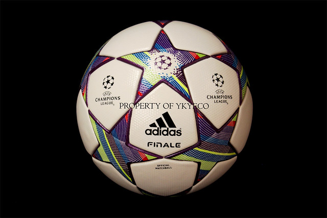 The Adidas Finale 11 Ball used during The Champions League 2011-2012 Group stage