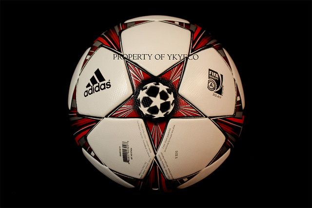 The Adidas Finale 13 Ball used during The Champions League 2013 2014 Group stage
